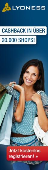 Mit Lyoness profitieren Sie als Lyoness Mitglied bei jedem Einkauf! Sie erhalten Cashback f�r jeden Einkauf bei �ber 20.000 Lyoness Partnerunternehmen: durch Online Shopping, Einkauf mit Originalgutscheinen oder Mobile Shopping.