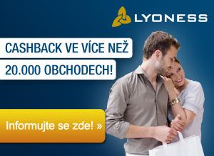Mezinárodní nákupní společenství Lyoness je síť bez omezení hranic a odvětví, která nabízí členům jedinečnou výhodu: Z každého nákupu peníze zpět!