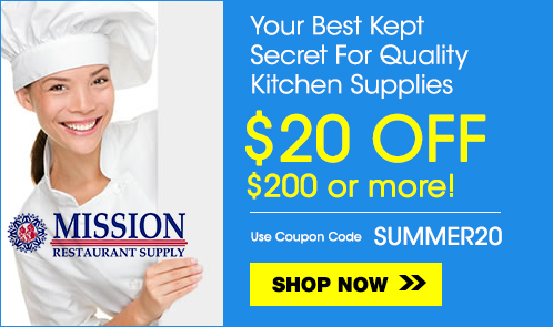 Mission Restaurant Supply Coupon